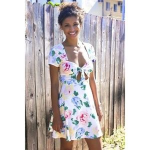 Reformed by Reformation x UO | Floral Dress